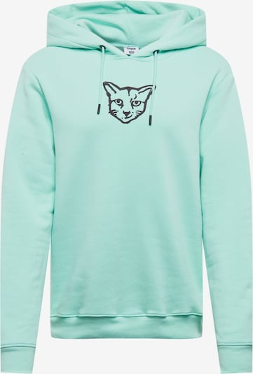 ABOUT YOU X PARI Sweatshirt 'Finnley' in de kleur Turquoise, Productweergave