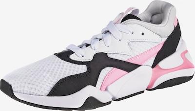 PUMA Sneaker 'Nova 90'S Bloc' in rosa / schwarz / weiß, Produktansicht