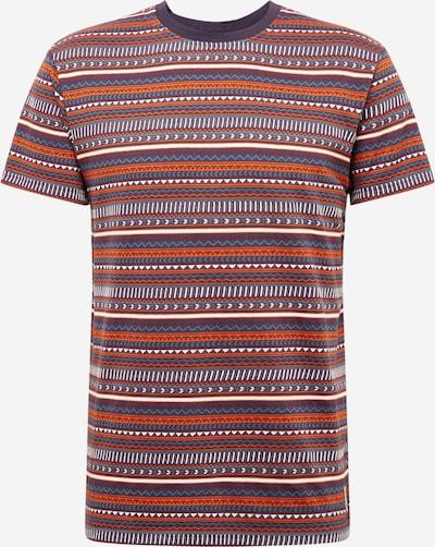 Iriedaily Shirt 'Chop Chop' in navy / beere / orange / weiß, Produktansicht