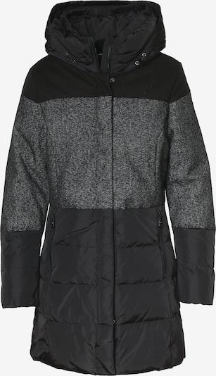 CMP Mantel in schwarz / schwarzmeliert, Produktansicht