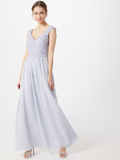 Unique Abendkleid in lavendel, Modelansicht