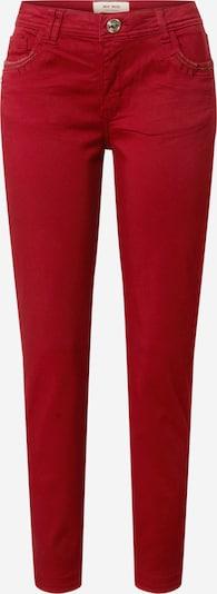 MOS MOSH Broek 'Sumner Jewel' in de kleur Rood, Productweergave