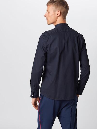 TOM TAILOR DENIM Pantalon chino en bleu foncé: Vue de dos