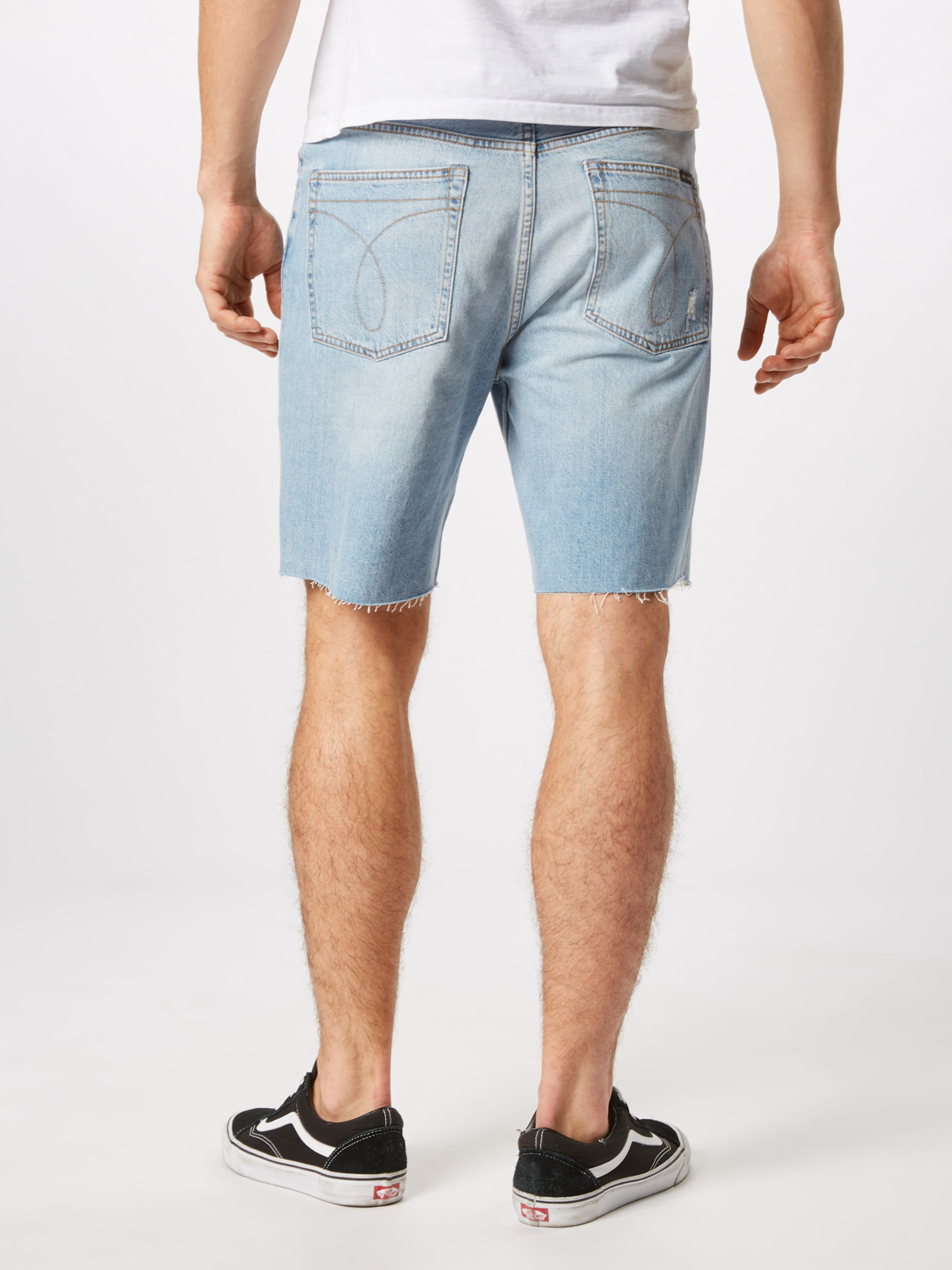 Denim Blue Shorts In Calvin Klein Jeans kOPZuiX