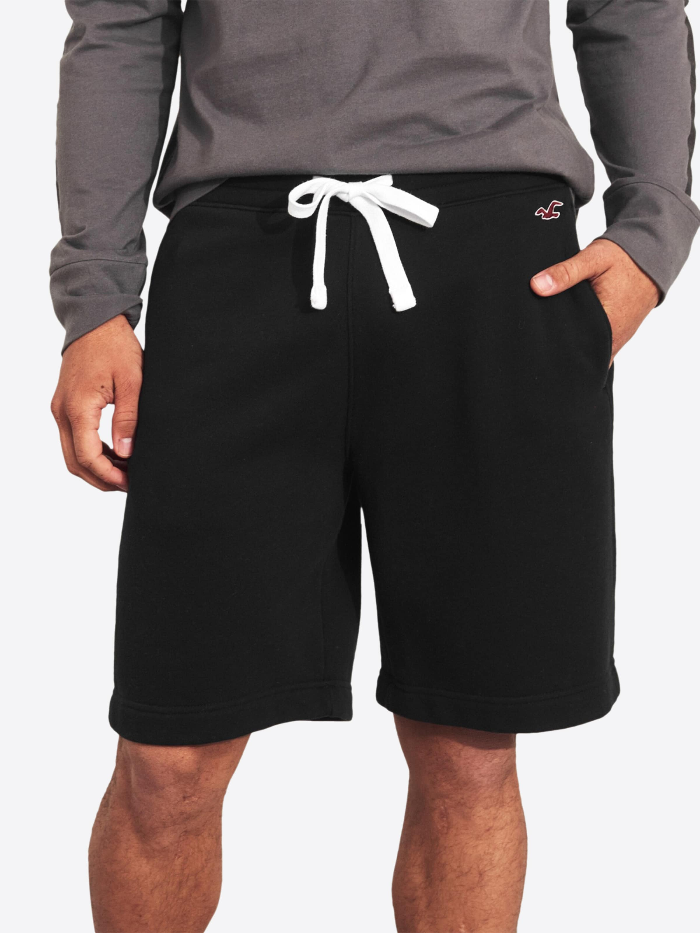 'fit' Shorts Hollister Schwarz In Hollister nOv8wyN0m