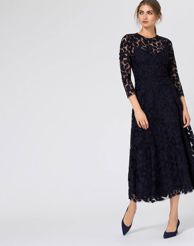 IVY & OAK Kleid 'Embroidered' Midi Dress
