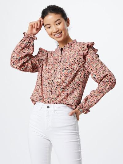 PIECES Bluzka 'PCHEILIN' w kolorze pomarańczowy / czerwony / czarnym, Podgląd na modelu(-ce)