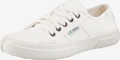natural world Sneakers Low in weiß, Produktansicht