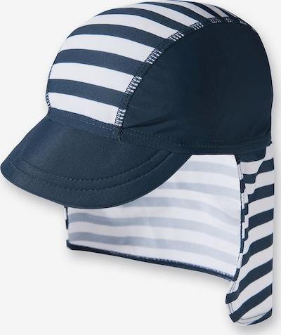 PLAYSHOES Hut in dunkelblau / weiß, Produktansicht