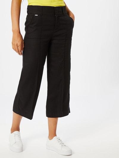 STREET ONE Pantalon 'Emee' in de kleur Zwart, Modelweergave