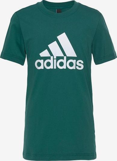 ADIDAS PERFORMANCE T-Shirt in grün / weiß, Produktansicht
