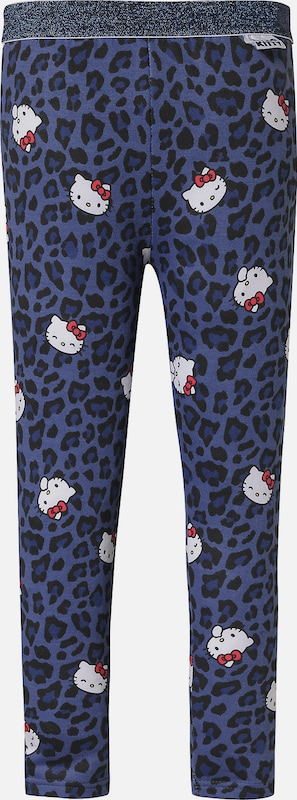HELLO KITTY Leggings in blau / schwarz, Produktansicht