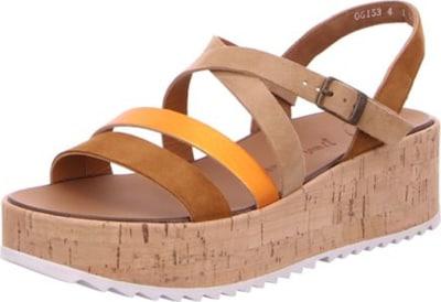 Paul Green Sandalen/Sandaletten in beige, Produktansicht