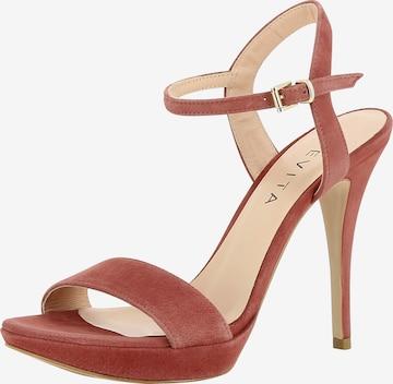 EVITA Sandalette 'Valeria' in Pink