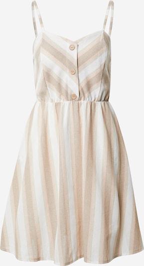 Hailys Robe d'été 'Ava' en beige clair / blanc, Vue avec produit