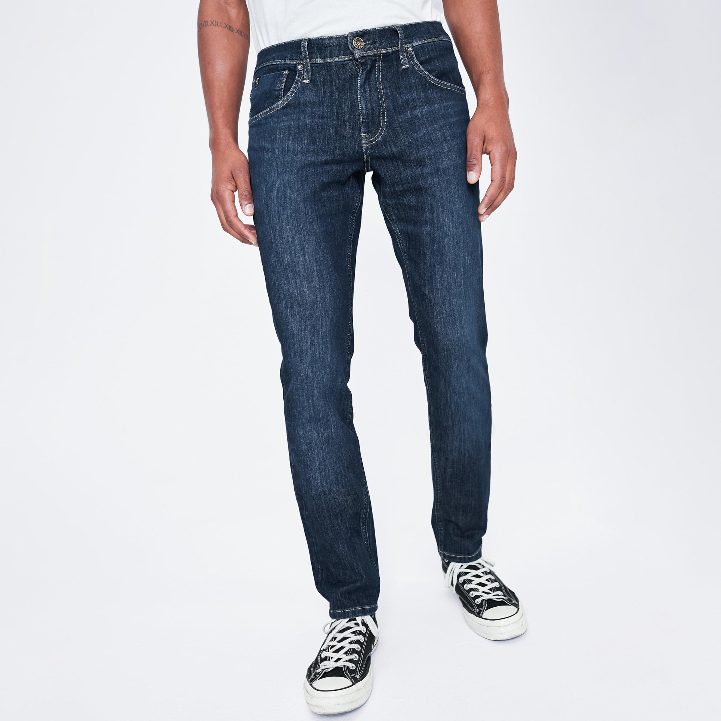 Harlem Soul Jeans 'CLE-VE' in blue denim Jeans I00045259BLU0013HJ3228
