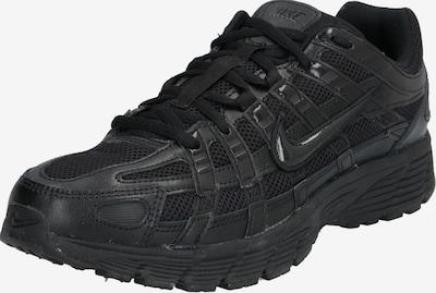Nike Sportswear Zemie apavi 'Nike P-6000' pieejami melns: Priekšējais skats