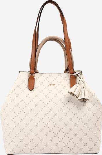 JOOP! Handtas in de kleur Bruin / Wit, Productweergave