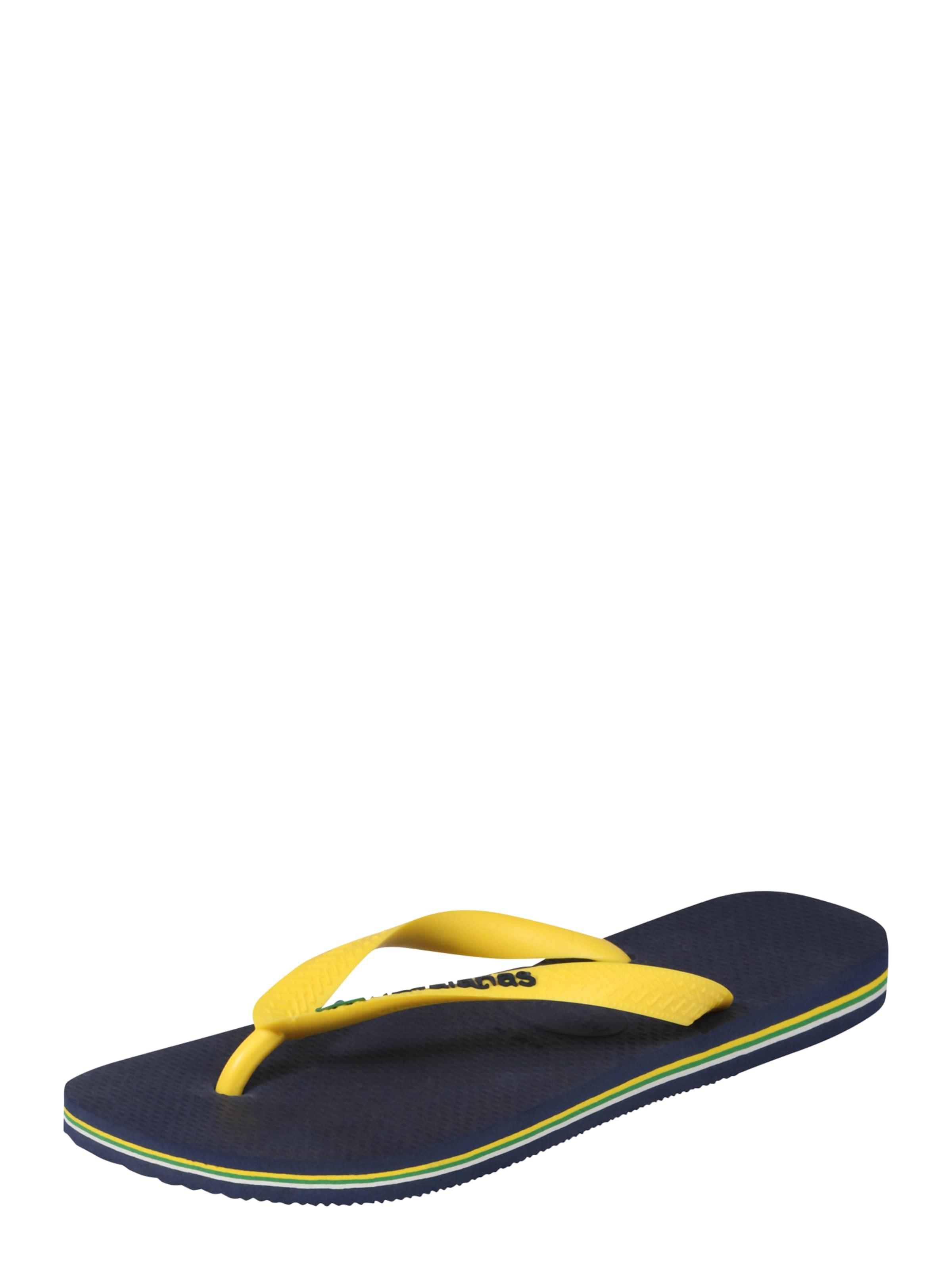 Haltbare Mode billige Schuhe HAVAIANAS | Badepantolette 'BRASIL' Schuhe Gut getragene Schuhe