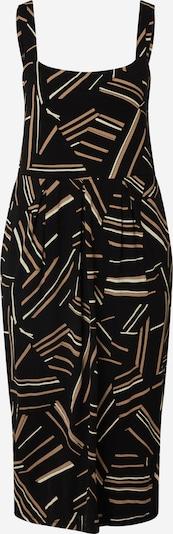 Masai Šaty 'Odelia' - krémová / hnědá / černá, Produkt
