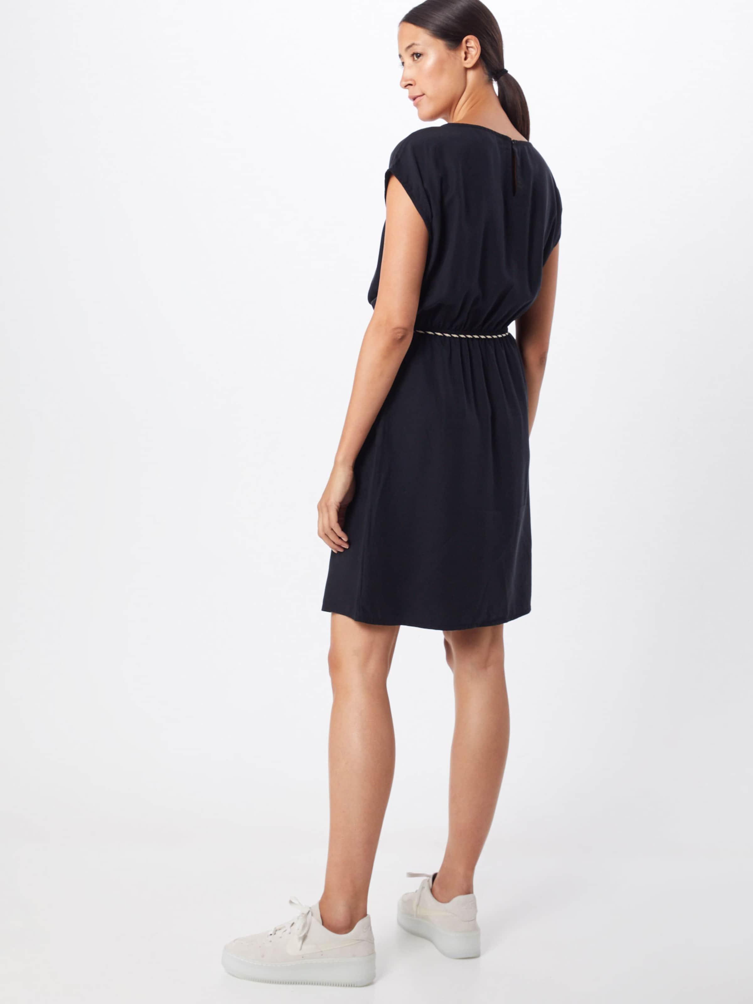 Esprit Kleid In 'r tencel' Schwarz 67Ygyvbf
