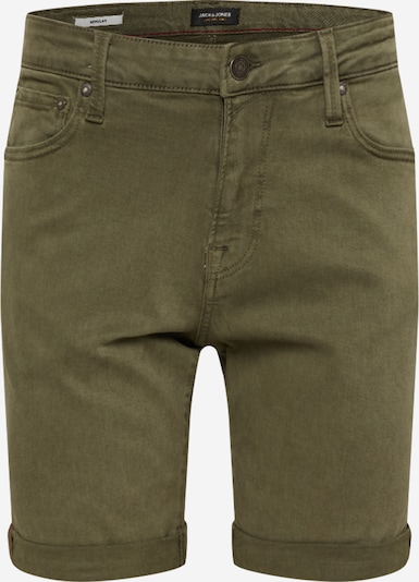 JACK & JONES Shorts in oliv, Produktansicht