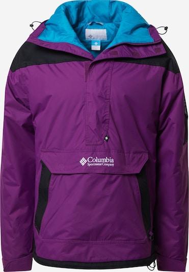 COLUMBIA Outdoorjas 'Challenger' in de kleur Donkerlila / Zwart, Productweergave