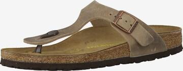 BIRKENSTOCK Sandal 'Gizeh' i brun