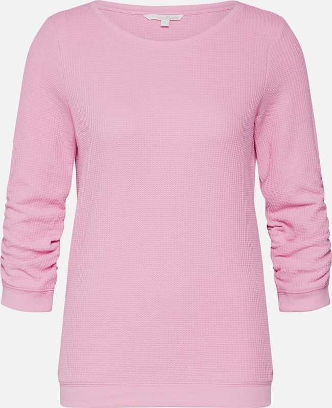 TOM TAILOR DENIM Sweatshirt in pink, Produktansicht