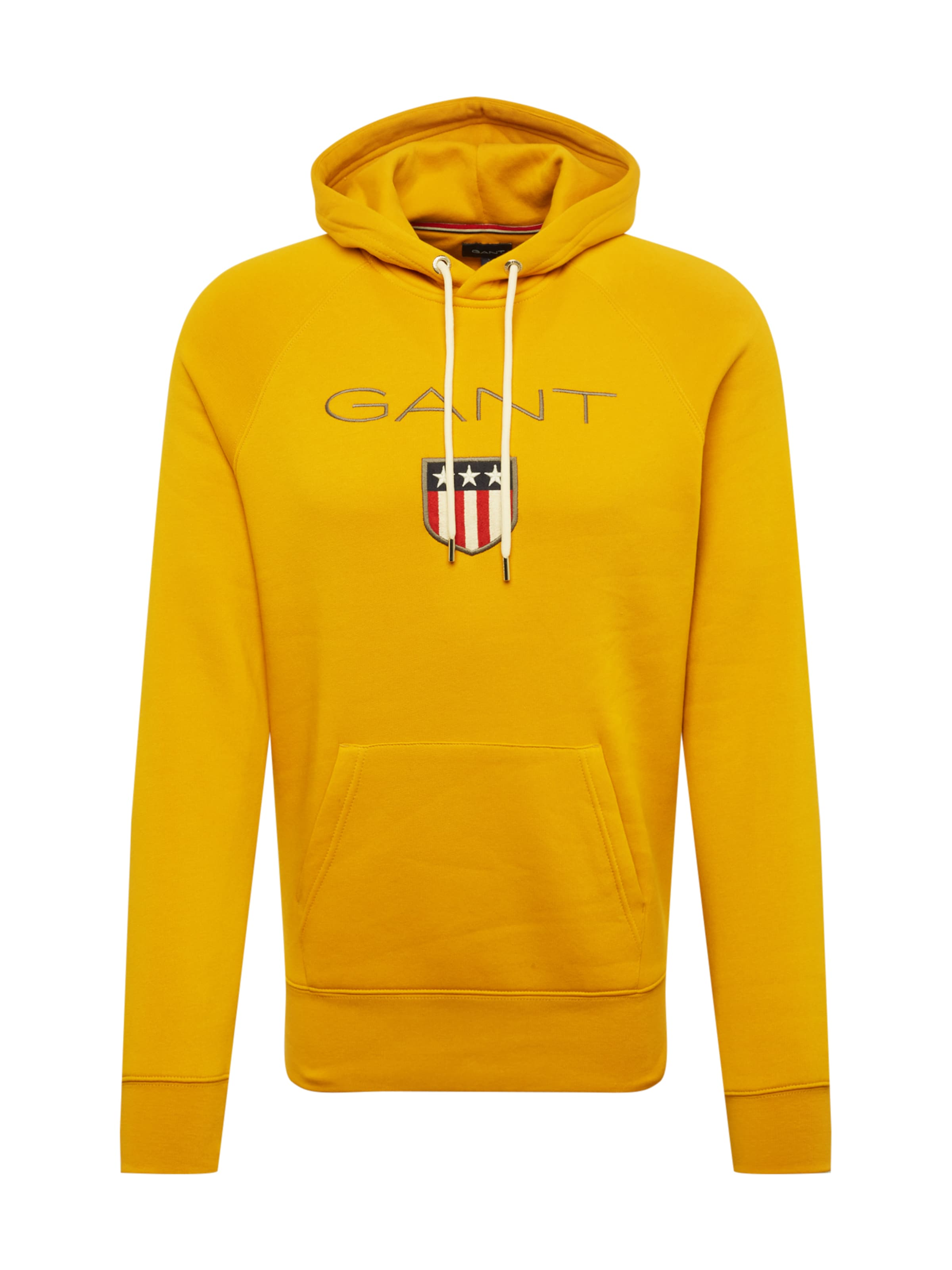 En Gant shirt D'or Jaune Sweat bgY6v7yf