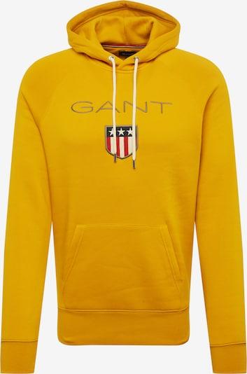 GANT Sweatshirt in goldgelb, Produktansicht