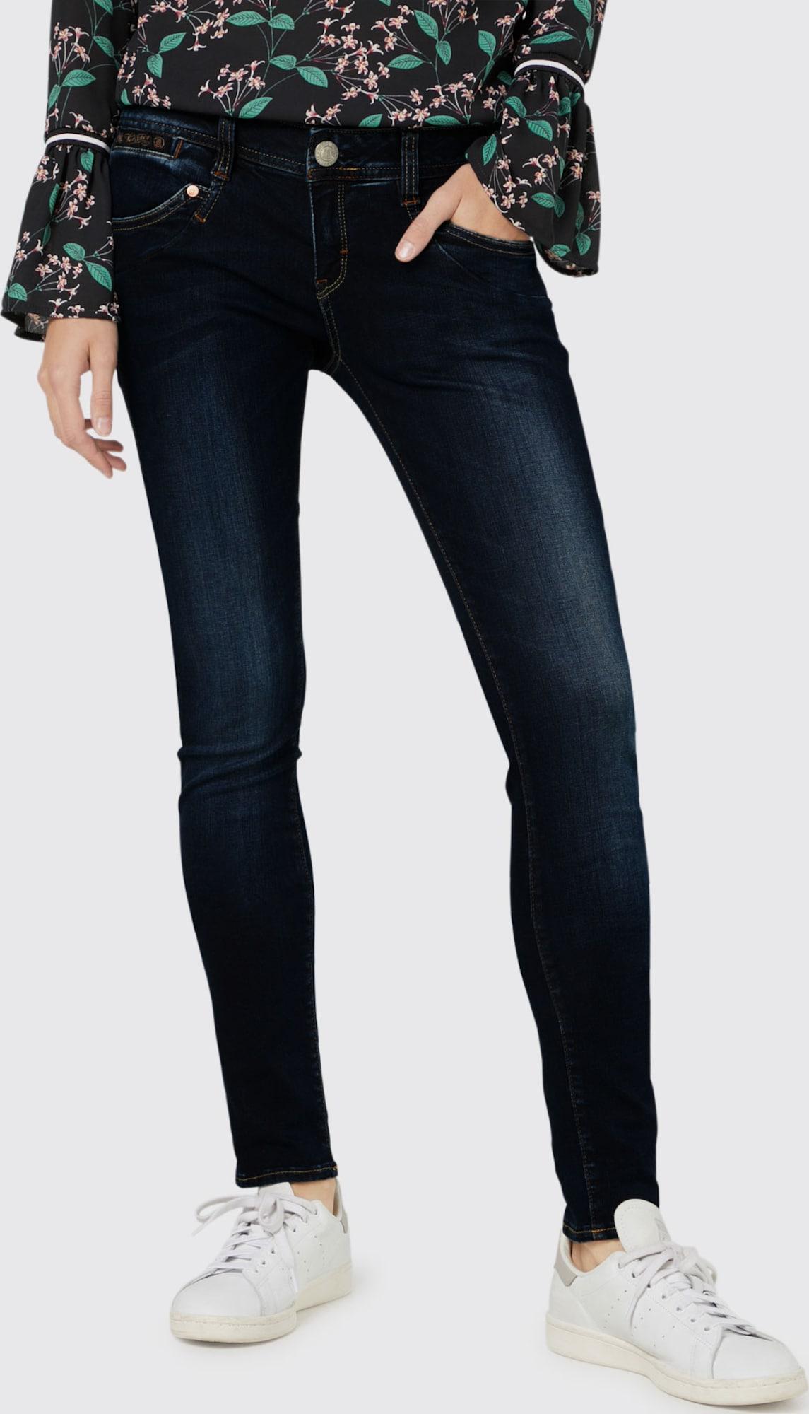 herrlicher 39 piper 39 slim fit jeans in blau about you. Black Bedroom Furniture Sets. Home Design Ideas