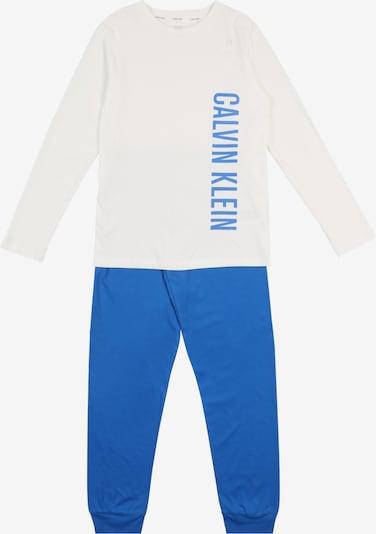 Calvin Klein Underwear Pyjama in blau / weiß, Produktansicht