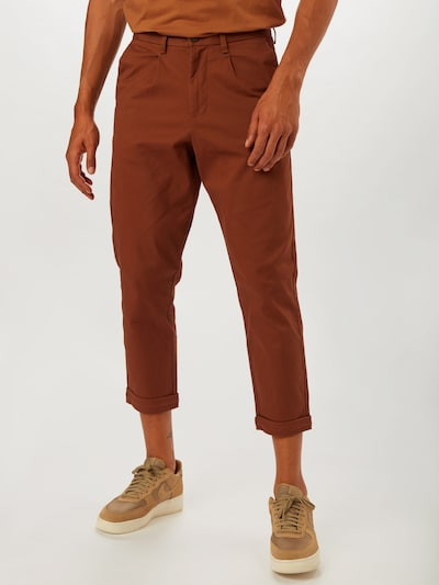 BURTON MENSWEAR LONDON Pantalon en marron: Vue de face