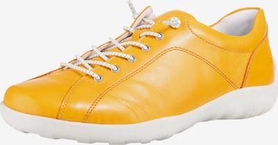 REMONTE Schnürschuhe in gelb / weiß, Produktansicht