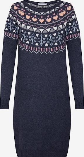 EDC BY ESPRIT Kleid 'jaquard dress' in mischfarben, Produktansicht