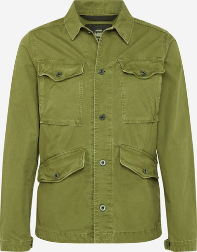 G-Star RAW Jacke 'Vodan Worker Overshirt' in oliv, Produktansicht