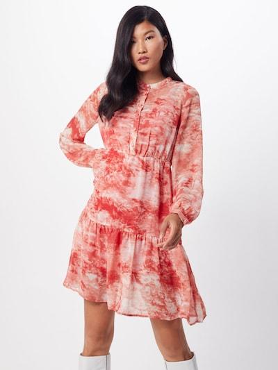 Palaidinės tipo suknelė 'VITIEDYE' iš VILA , spalva - raudona / balta: Vaizdas iš priekio