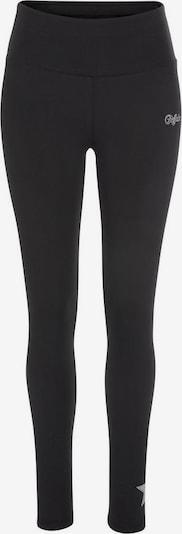 BUFFALO Leggings »Buffalo Jersey Leggings Stars« in schwarz / silber, Produktansicht