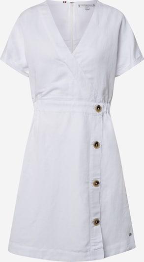 TOMMY HILFIGER Šaty - biela: Pohľad spredu