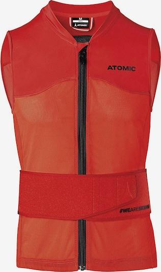 ATOMIC Weste in orangerot, Produktansicht