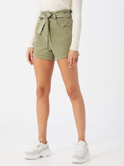 Gina Tricot Jeans in khaki, Modelansicht