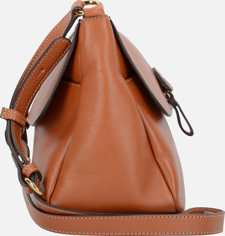 Brics Life Pelleted Shoulder Bag Leather 29 Cm