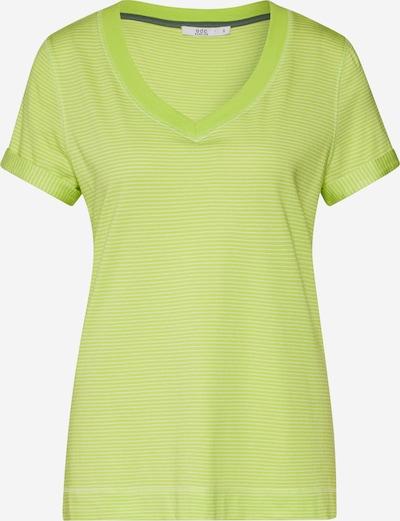 EDC BY ESPRIT Shirt 'Slim Stripe Tee' in zitrone, Produktansicht