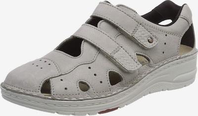 BERKEMANN Sandale in hellgrau, Produktansicht