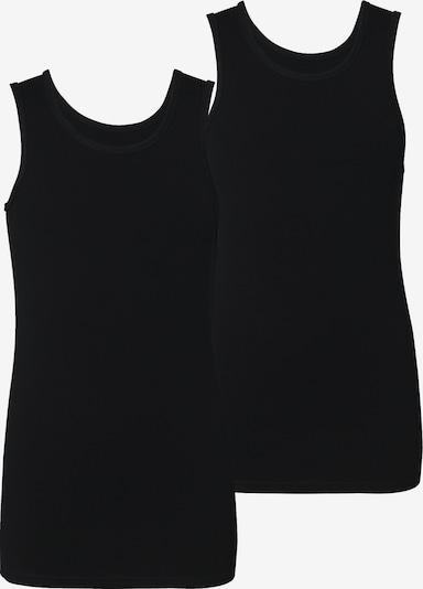 NAME IT Unterhemden, Doppelpack in schwarz, Produktansicht