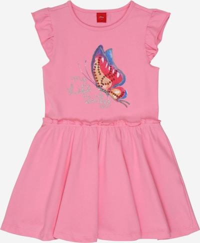 s.Oliver Kleid in mischfarben / pink / rosa, Produktansicht