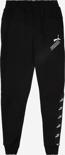 PUMA Pantalon de sport 'Amplified' en noir / blanc, Vue avec produit