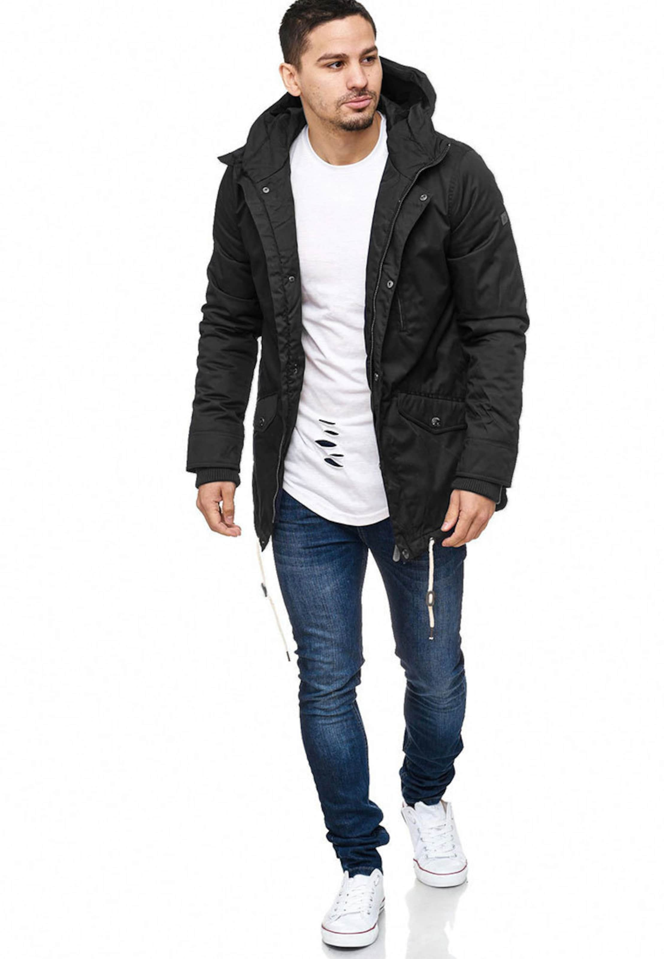 Noir Indicode Chance En D'hiver ' Jeans Parka 7b6fgyYv