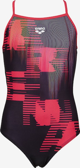 ARENA Badeanzug in orange / rot / schwarz, Produktansicht